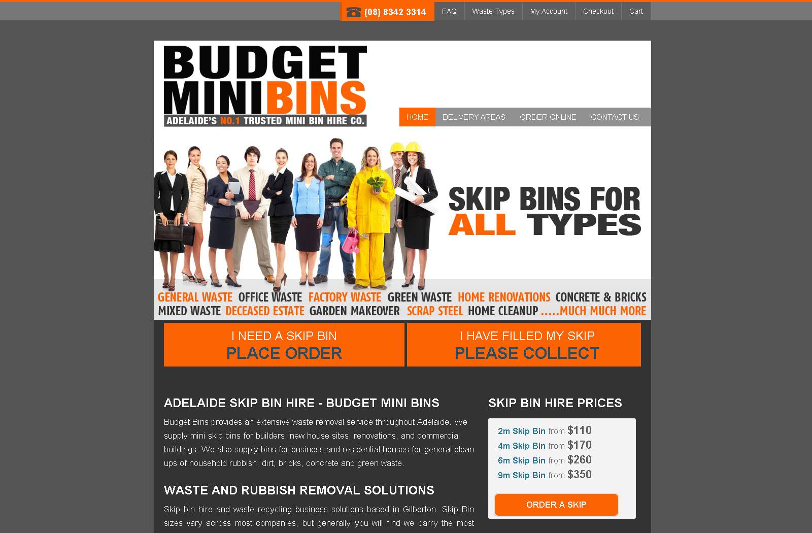 Budget Mini Bins