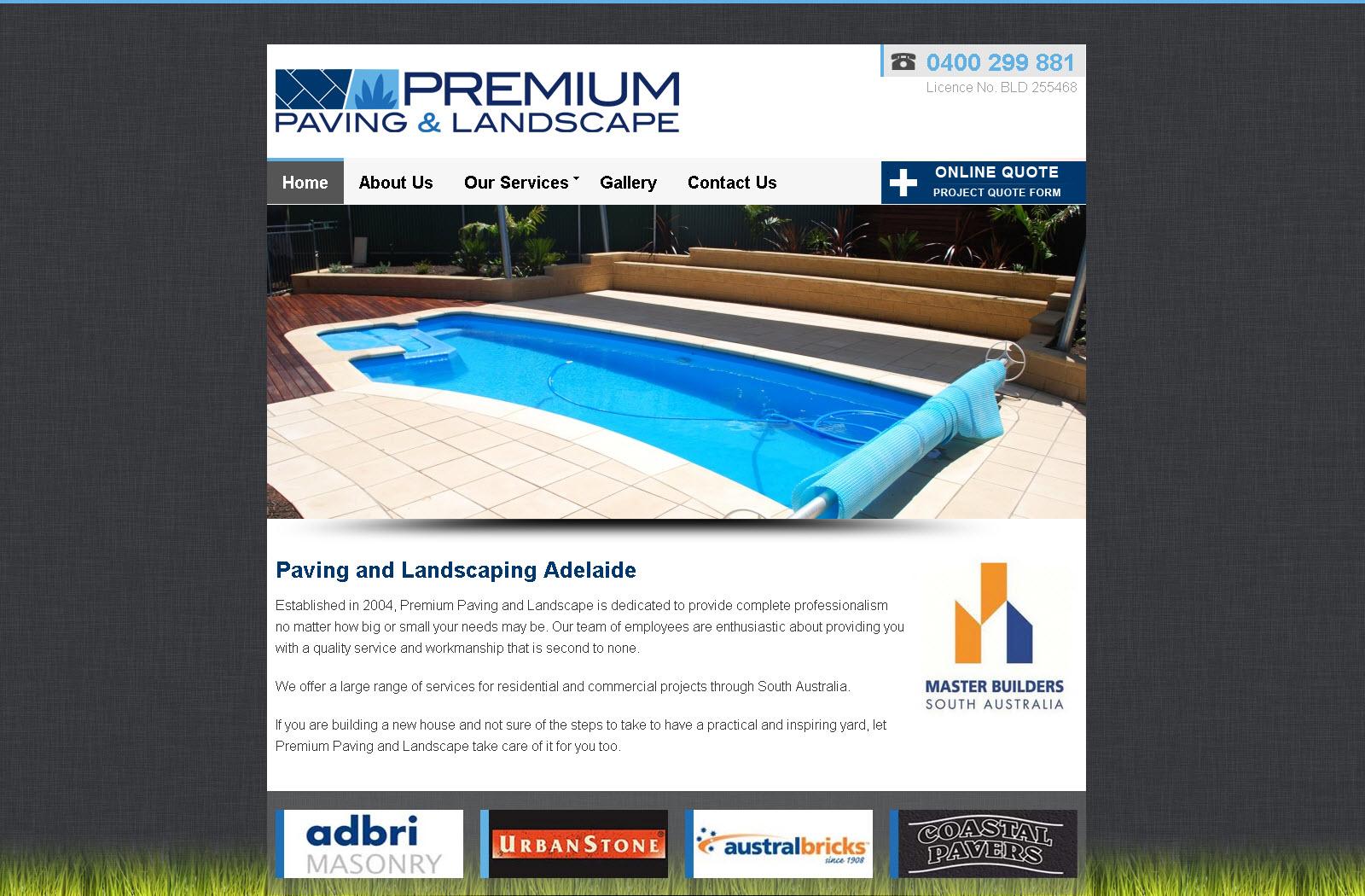Premium Paving and Landscape